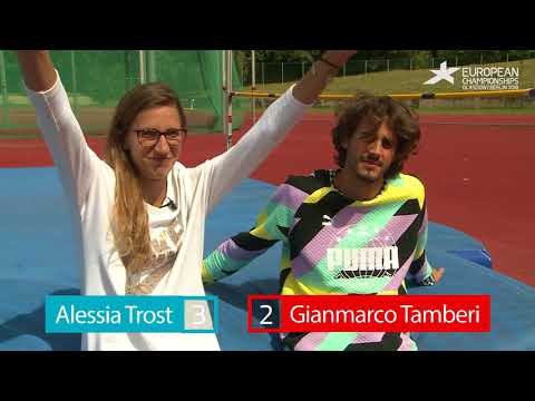 Gianmarco tamberi vs. alessia trost quiz challenge   how well do you know berlin?