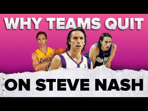 Why did 2 teams quit on steve nash? 🤔 | #shorts