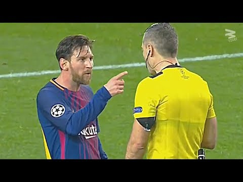 Players vs referees: crazy moments