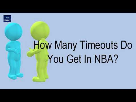 How many timeouts do you get in nba?