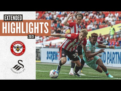 Brentford v swansea city   play-off final   extended highlights