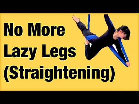 Why can't i straighten my legs when doing leg raise- performing arts
