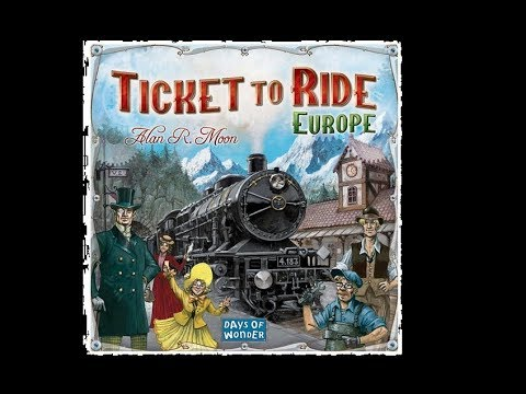 Ticket to ride - europe board game review