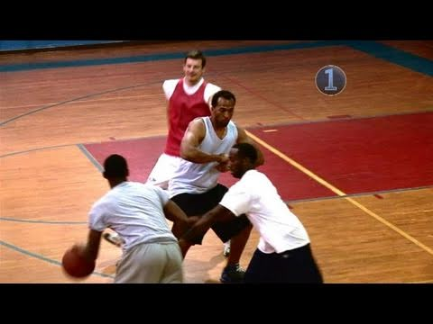 How pick and roll in basketball by tracey murray