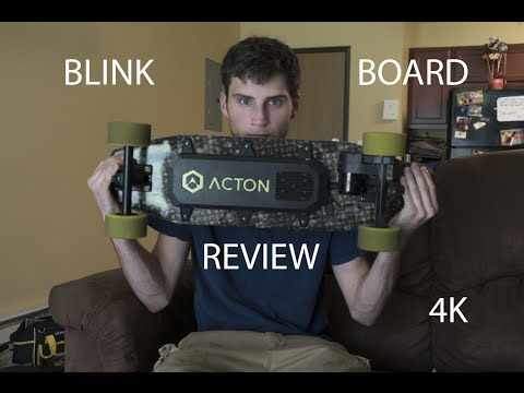 Acton generation 1 blink electric skateboard unboxing, getting started guide and review - in 4k