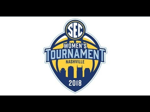 2018 highlights of gamecock women's basketball in sec tournament. (hd)
