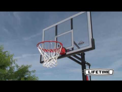 Lifetime 54'' power lift basketball system | model 71522 | features & benefits