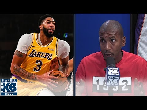 Raja bell: even with 40 and 20, lakers best bet isn't playing through ad | kanell & bell