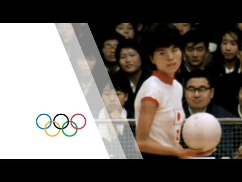 Japan win first ever women's volleyball gold - tokyo 1964 olympics