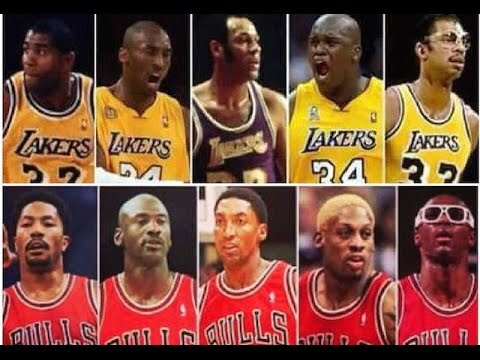 Top 10 best all-time nba franchise teams