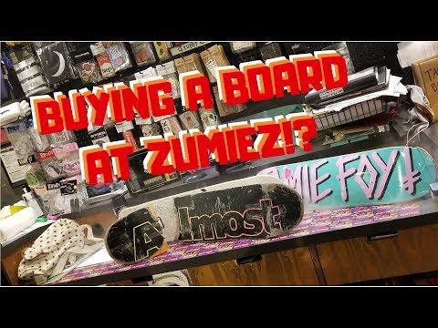 How to buy and build a board at zumiez   skate vlog