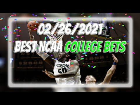 2/26/2021 - best college basketball picks   all free bets   $20 giveaway