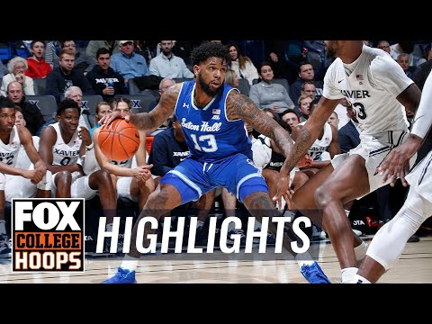 Myles powell leads seton hall past xavier with dominating performance | fox college hoops highlights