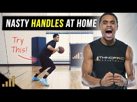 How to: get better at basketball fast!! basketball dribbling drills at home!!!