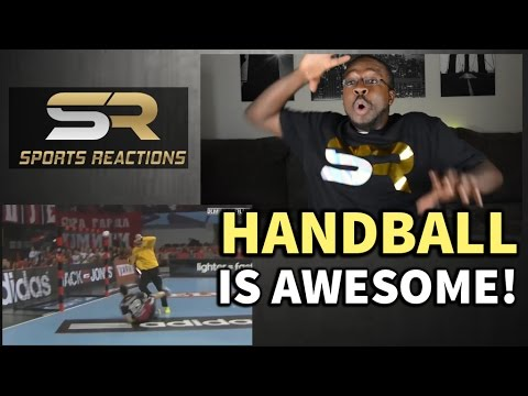 Handball is awesome! watch this! reaction || sports reactions