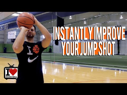 Instantly improve your jump shot with these 3 shooting drills!