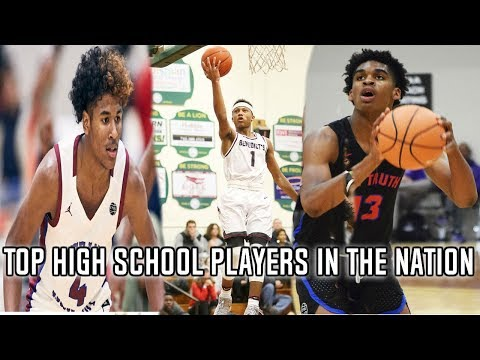 Top 10 highschool basketball players in the nation! (class of 2020)