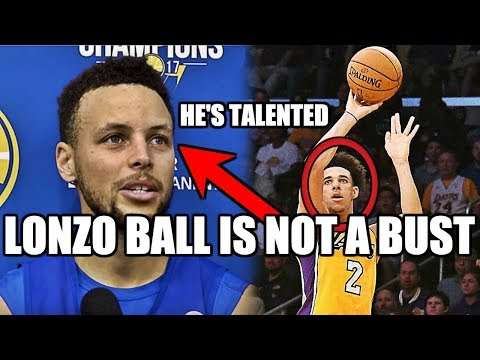 Why nba stars know lonzo ball is not a bust