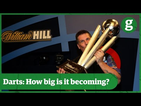How did darts get its own sky sports channel? | pdc world championships