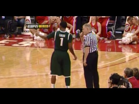 College basketball referees wired - listen in on draymond green, jim burr and others