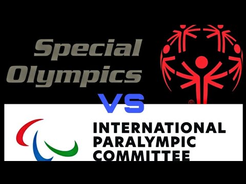 Special olympics vs paralympic difference