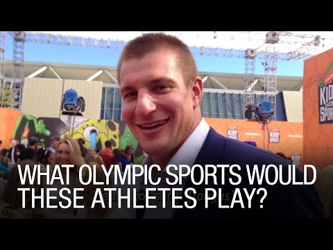 What olympic sports would these athletes play?