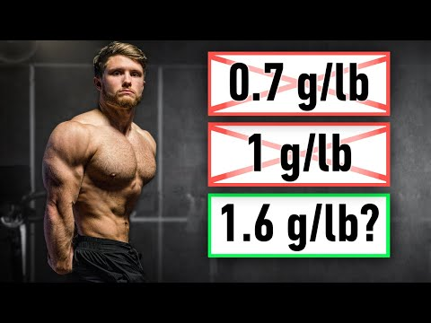 The science behind my high protein diet (how much per day for muscle growth & fat loss?)