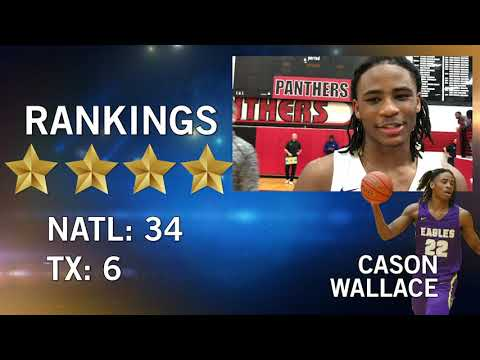 Recruiting trail talks to cason wallace who's climbing national rankings for richardson basketball