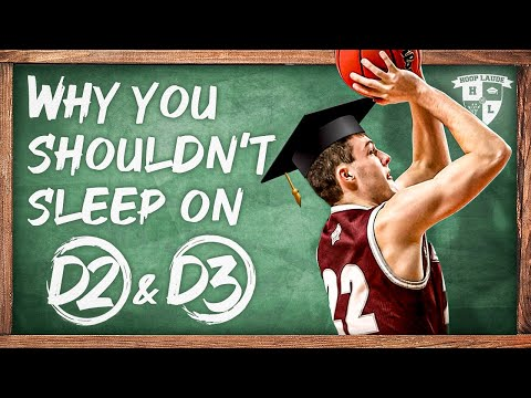 Don't sleep on d2 and d3 college basketball (quick tip)