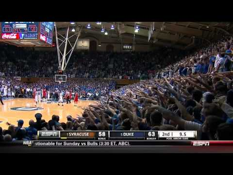 Jim boeheim ejected as syracuse basketball loses on controversial call at duke 2.22.14 🏀