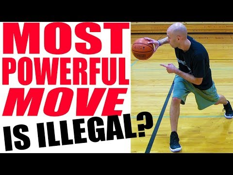 Is the most powerful basketball move illegal? how to use it