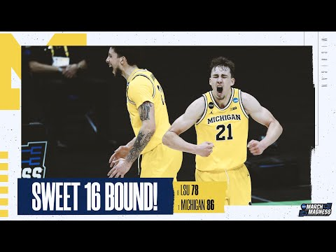 Lsu vs. michigan - second round ncaa tournament extended highlights