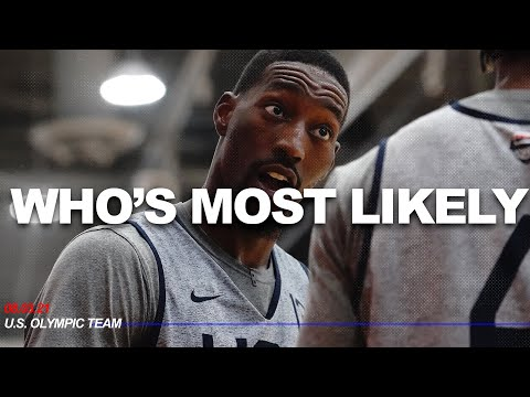 Who's most likely to // u.s. olympic men's basketball team