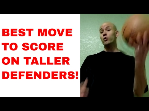 Best move against bigger players: how to drive and score on taller opponents