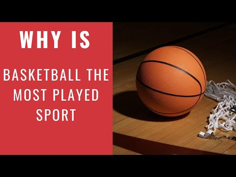 Why is basketball the most played sport in the philippines
