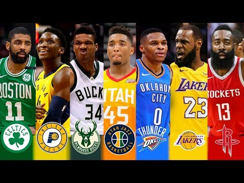 Nba 2018 - 2019 best player of every team
