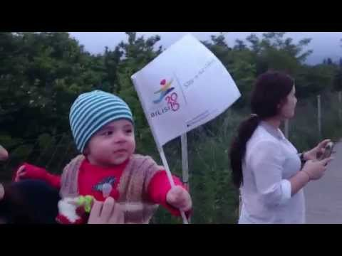 European youth olympic festival tbilisi 2015 - first flame