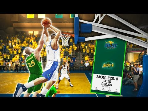 Electric dunk in conference opener! | ncaa basketball 10 umkc dynasty ep. 17 (s2)