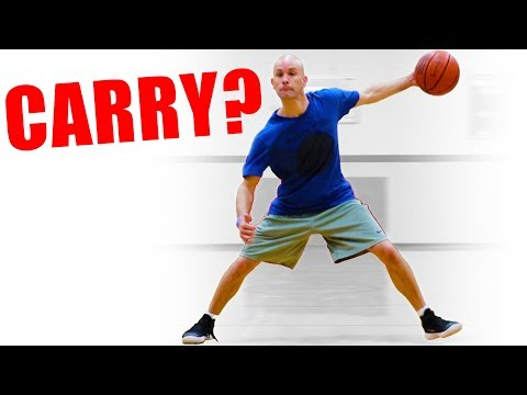 What's a carry in basketball & what's not? basketball rules explained!
