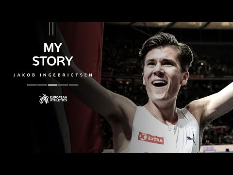 """""""i will not be 100% satisfied until i become the fastest ever""""   my story: jakob ingebrigtsen"""