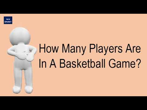How many players are in a basketball game?