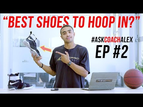 """""""best basketball shoes to play in?"""" q&a time: your basketball training questions! #askcoachalex"""