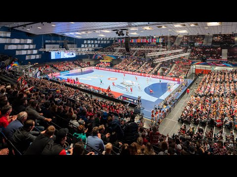 Atmosphere, excitement and great technology at the ehf handball euro 2020