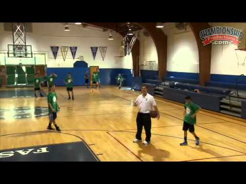 Coaching middle school basketball: structuring a practice plan - chase layups