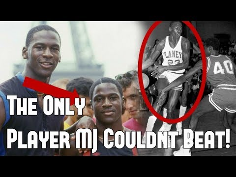 The only player michael jordan couldn't beat!?