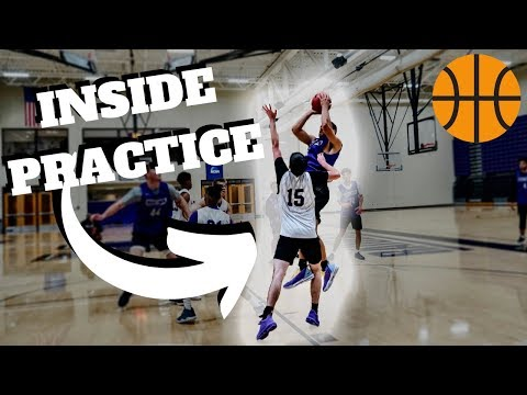 Inside the first college basketball practice like at the d3 level?!