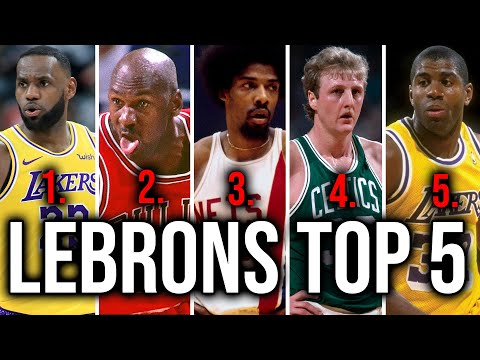 Every nba players' top 5 players of all time