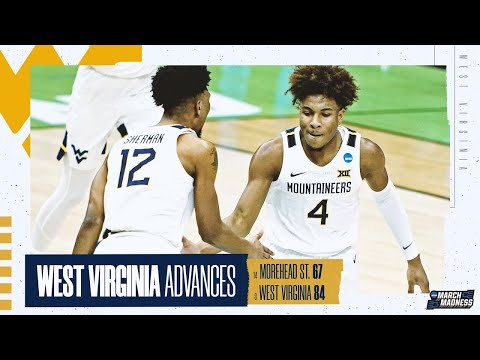 Morehead st. vs. west virginia: first round ncaa tournament extended highlights