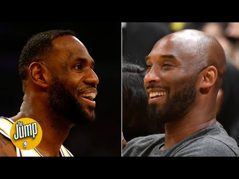 Why kobe was at the lakers game, and what it means for lebron james | the jump