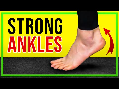 Three advanced ankle strengthening exercises (no equipment)